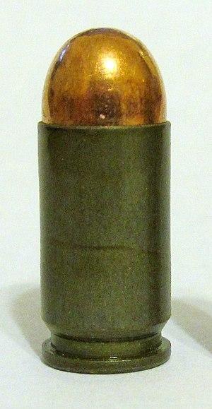 9×18mm Makarov - Image: 9mm Makarov