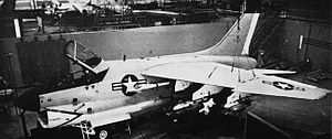 LTV A-7 Corsair II - The first A-7 mock-up in 1964