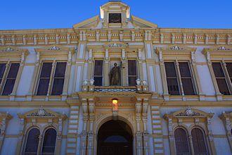 Storey County, Nevada - Image: A491, Virginia City, Nevada, USA, Storey County Courthouse, 2016