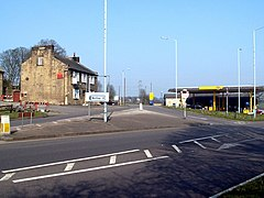A61 Junction with A629 - geograph.org.uk - 385131.jpg