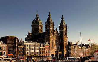 1887 in architecture - Basilica of St. Nicholas, Amsterdam