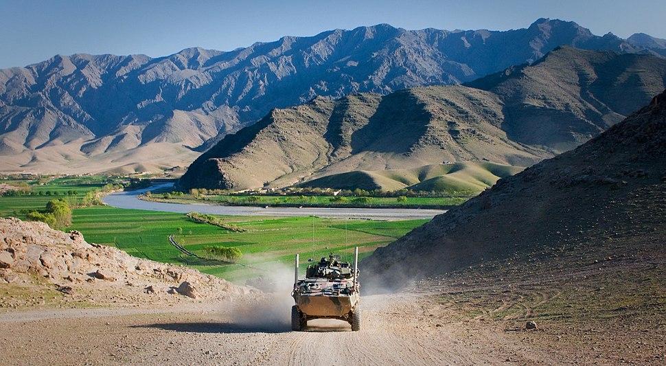 ASLAV in Afghanistan during early 2011