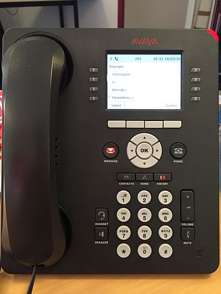 File:AVAYA 9611G IP Phone.jpg