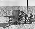 A 2 Pounder gun being fired by men of the Free French fighting with British units in the Western Desert, c 1942.jpg