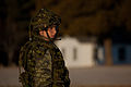 A Canadian soldier with 2nd Battalion, Royal Newfoundland Regiment, 37th Canadian Brigade Group stands ready for the start of Exercise Southern Raider 13 at Fort Pickett, Va., March 4, 2013 130304-A-KH856-006.jpg