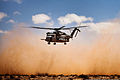 A U.S. Marine Corps CH-53E Super Stallion helicopter transports Marines with 81 mm Mortar Platoon, Weapons Company, 1st Battalion, 2nd Marine Regiment, Battalion Landing Team, 24th Marine Expeditionary Unit to 120409-M-IX060-016.jpg