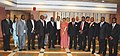 A delegation from Malawi led by the Speaker of the National Assembly of the Malawi, Rt. Hon. H.F. Chimunthu Banda M.P. calls on the Speaker, Lok Sabha, Smt. Meira Kumar, in New Delhi on May 04, 2011.jpg