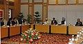 A delegation of representatives of MSME Association led by the Union Minister for Micro, Small & Medium Enterprises, Shri Mahabir Prasad calling on the Prime Minister, Dr. Manmohan Singh, in New Delhi on December 08, 2008.jpg