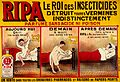 A man using RIPA insecticide to kill bedbugs Wellcome L0032188.jpg