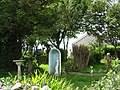 A peaceful garden opposite Llechcynfarwy Church - geograph.org.uk - 978072.jpg