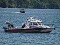 A police boat patrols Toronto's busy harbour, 2016 07 03 (11).JPG - panoramio.jpg