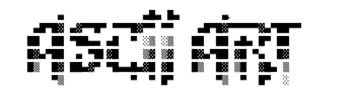 "English: ascii art example. ""Block"" ..."