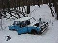 Abandoned and wrecked car Lada. Shchelokovskiy khutor. Nizhniy Novgorod.jpg
