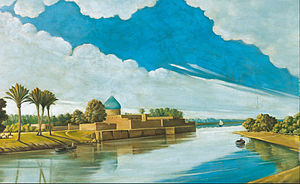 Abdul Qadir Al Rassam - Image: Abdul Qadir al Rassam River Scene on the Banks of the Tigris Google Art Project