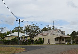 Abercorn, Queensland - A former shop and a house at Abercorn