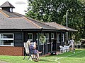 Abridge Cricket Club pavilion in Abridge, Essex England 2.jpg