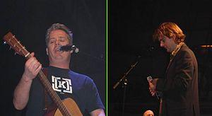 Acda en De Munnik - Thomas Acda (left) and Paul de Munnik (right)
