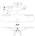 Ace Baby Ace SSP 3-view Aero Digest February,1930.png