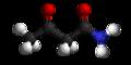 Acetoacetamide3D.png