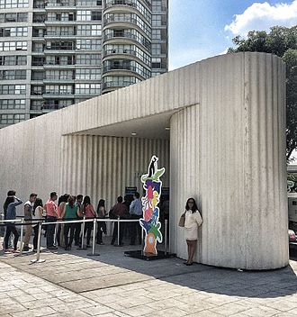 Acuario Inbursa - Acuario Inbursa entrance