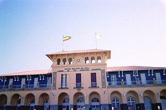 Ethio-Djibouti Railways - The Addis Ababa La Gare train station.