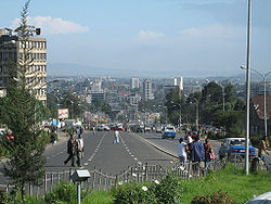 Skyline of Addis Ababa