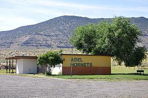 Adel, Oregon - Adel School in 2015