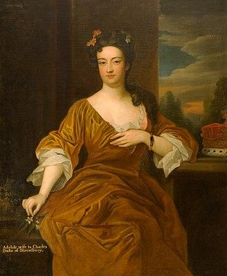 Charles Talbot, 1st Duke of Shrewsbury - Adelhida Paleotti became Charles Talbot's wife in 1705.