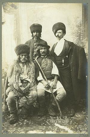 Petroșani - Image: Adler Ciobani din Petroşani, aprox. 1910