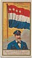 Admiral, Netherlands, from the Naval Flags series (N17) for Allen & Ginter Cigarettes Brands MET DP834929.jpg