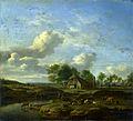 Adriaen van de Velde - Een landschap met een boerderij (1661).jpg