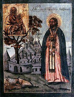 Monk and iconographer