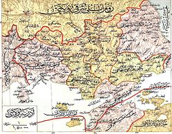 Location of Sanjak of Gallipoli