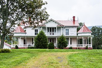 National Register of Historic Places listings in Albemarle County, Virginia - Image: Advance Mills Fray Farm