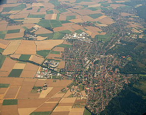 Barsinghausen - Aerial view of Barsinghausen