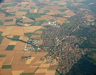 Barsinghausen - Aerial view of Barsinghausen