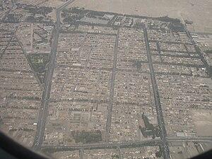 Birjand - Aerial view of Birjand, 2006