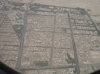 Birjand - Aerial view of Birjand, 2006
