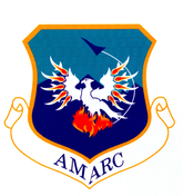 Aerospace Maintenance and Regeneration Center emblem.png