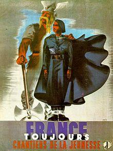 Chantiers de la jeunesse française — Wikipédia