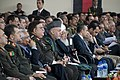 Afghan President Hamid Karzai listens to a speech at the National Military Academy of Afghanistan.jpg