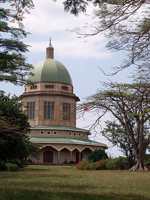 Religion in Africa - Bahá'í House of Worship, Kampala, Uganda.