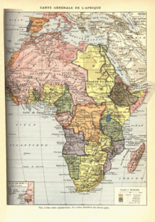 List of french possessions and colonies wikipedia map of french colonies in africa in pink gumiabroncs Choice Image