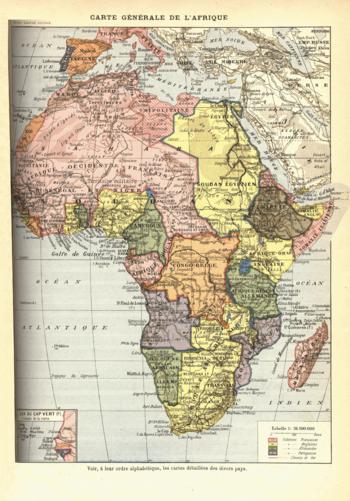 "L'image ""http://upload.wikimedia.org/wikipedia/commons/thumb/4/43/Africa1898.png/350px-Africa1898.png"" ne peut être affichée car elle contient des erreurs."