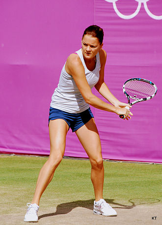 Poland at the 2012 Summer Olympics - Agnieszka Radwańska in women's tennis singles.