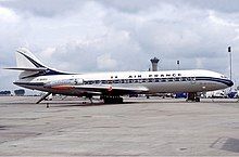 buy online cee5a 41f62 Air France Caravelle jetliner in 1977