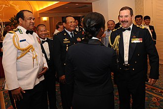 Chief of Air Force (Australia) - Image: Air Marshal Gavin Davies at the Pacific Air Chiefs Symposium