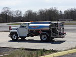 Aircraft tank truck at Griffin Spalding Airport.JPG