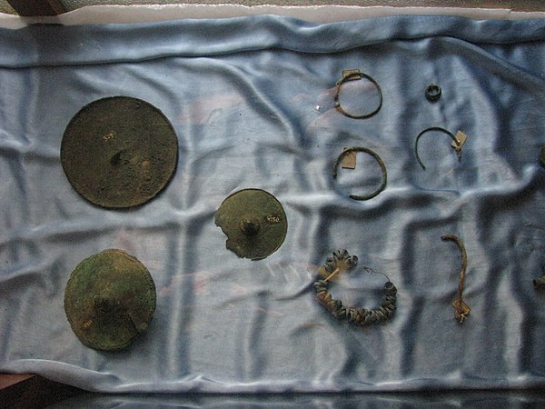 Aiud History Museum 2011 - Scythian Items.JPG