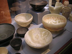Alabaster bowls from ancient Egypt